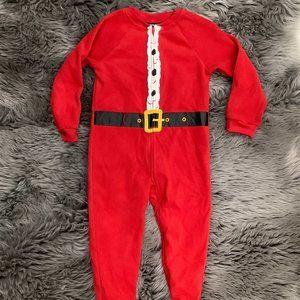 Joe Boxer | Boy's Footed Pyjamas | Santa's Suit